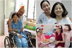 Bị ung thư hành hạ hơn 1 năm nhưng nụ cười lạc quan trên môi Mai Phương chưa bao giờ tắt
