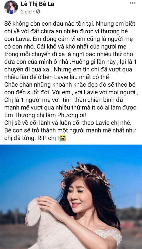 Thương xót Mai Phương, nghệ sĩ Việt lại chạnh lòng khi nghĩ đến con gái người quá cố-3