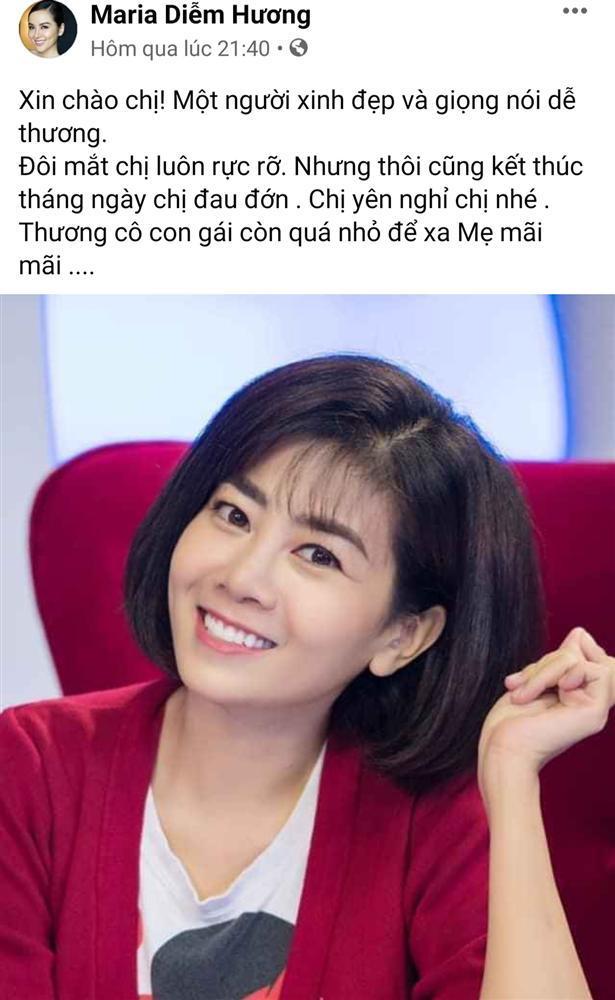 Thương xót Mai Phương, nghệ sĩ Việt lại chạnh lòng khi nghĩ đến con gái người quá cố-4