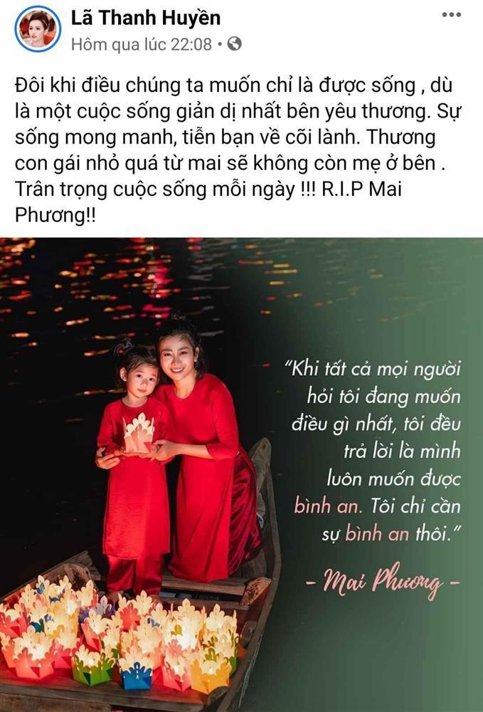 Thương xót Mai Phương, nghệ sĩ Việt lại chạnh lòng khi nghĩ đến con gái người quá cố-6