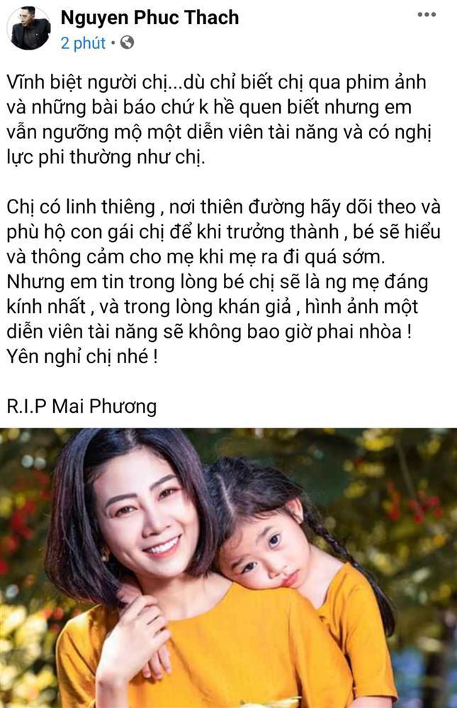 Thương xót Mai Phương, nghệ sĩ Việt lại chạnh lòng khi nghĩ đến con gái người quá cố-8