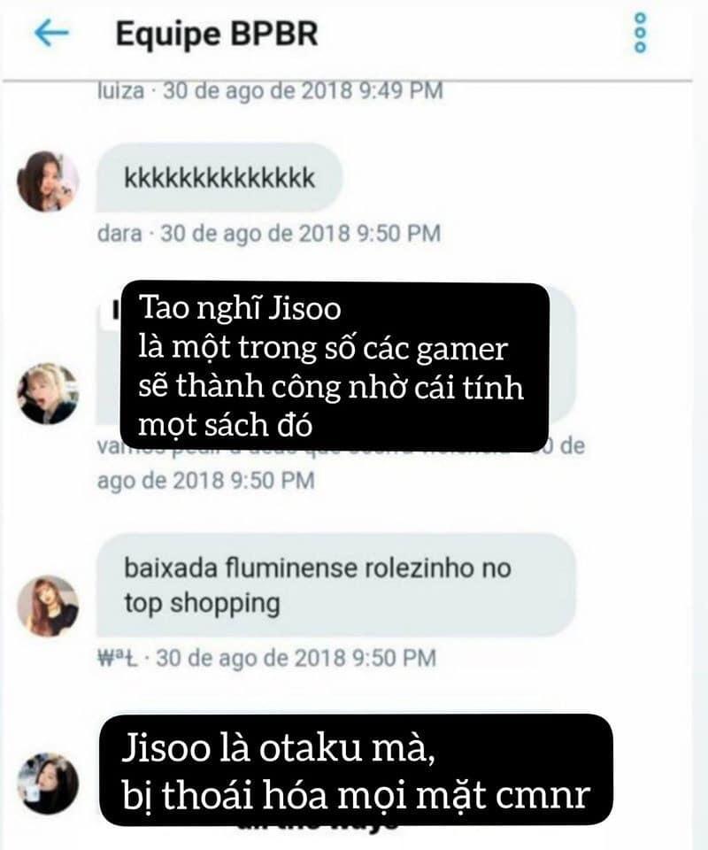 Đại chiến nội bộ fandom BlackPink: Fan only mắng chửi Jisoo bất tài, cười cợt chuyện trinh tiết của Jennie-2