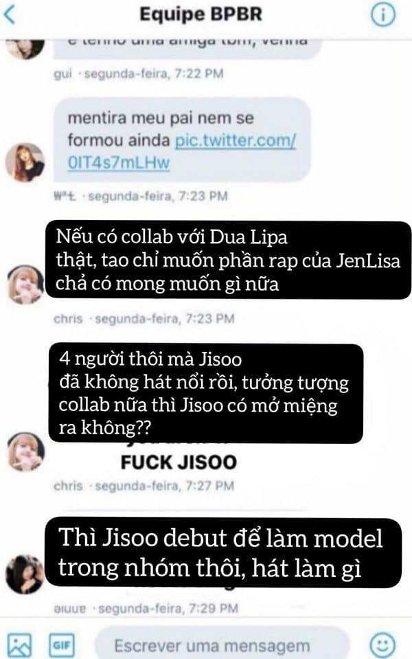 Đại chiến nội bộ fandom BlackPink: Fan only mắng chửi Jisoo bất tài, cười cợt chuyện trinh tiết của Jennie-4