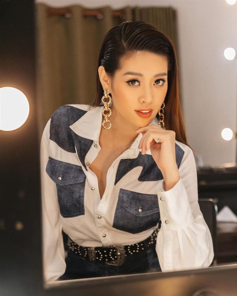 Bản tin Hoa hậu Hoàn vũ 29/3: Vẻ đẹp Khánh Vân có gì đặc biệt so với 2 đối thủ Châu Á?-1