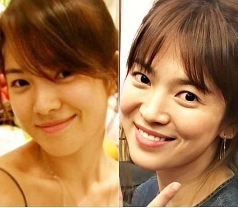 Song Hye Kyo lộ mặt mộc quá đỉnh: Đẳng cấp visual không cần son phấn, photoshop là đây!-2