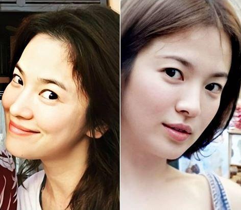 Song Hye Kyo lộ mặt mộc quá đỉnh: Đẳng cấp visual không cần son phấn, photoshop là đây!-4