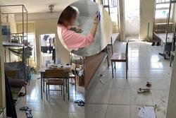 Nữ du học sinh Đài Loan dọn KTX cách ly sạch tinh tươm, dân mạng đồng loạt 'thả tim' cho hành động đẹp