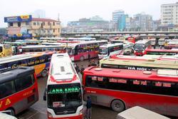 Từ 0h hôm nay, tàu xe chở khách đến Hà Nội, TP.HCM không quá 2 chuyến/ngày