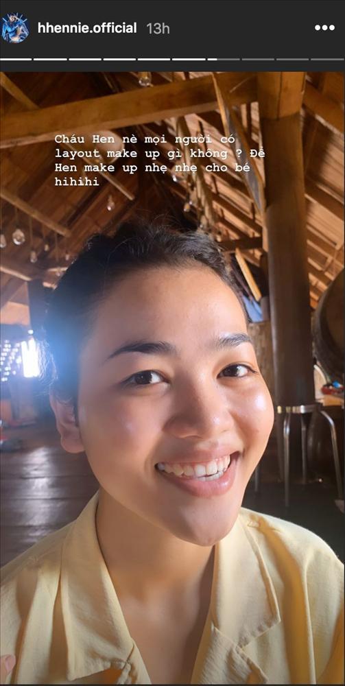 Về quê tránh dịch Covid-19, HHen Niê khoe cháu gái với nhan sắc cực phẩm-1