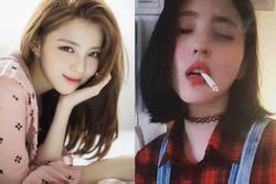 'Bản sao Song Hye Kyo' phì phèo hút thuốc nhưng lại được cư dân mạng Hàn khen quá ngầu