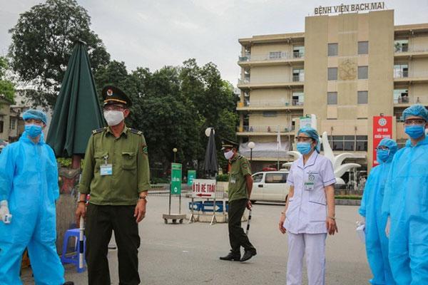 Việt Nam có thêm 9 ca mắc Covid-19 nữa, nâng tổng số lên 203, 7 người cty Trường Sinh, 1 ca tới khám ở Bạch Mai-1