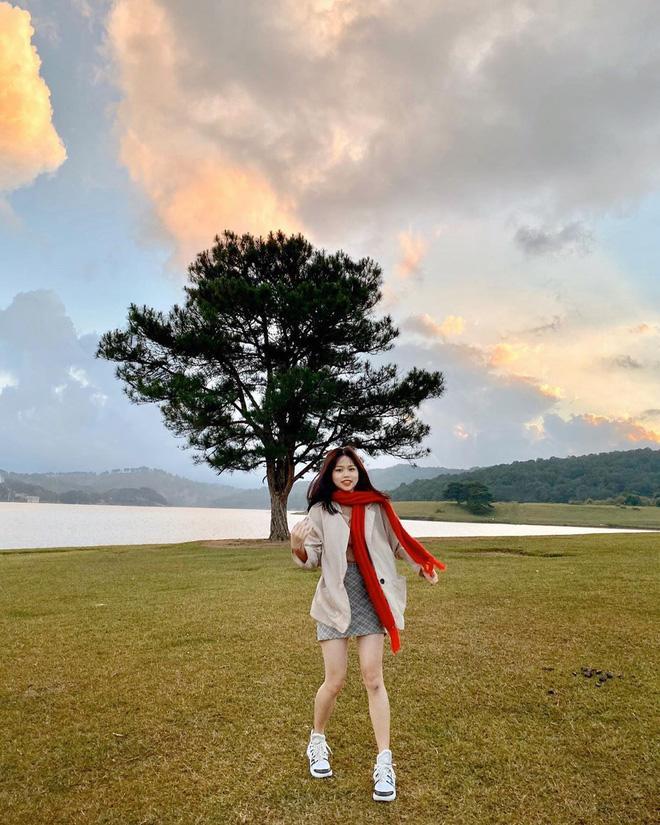 Gái xinh khiến Quang Hải - Nhật Lê bị đồn chia tay khi vừa tái hợp: Giỏi thả thính, là du học sinh Singapore-5