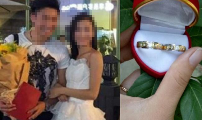 Vui vẻ cùng bạn trai đi chọn nhẫn cưới nhưng phút cuối cùng cô gái vẫn tuyên bố hủy hôn chỉ vì 1 câu nói-1
