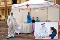 Hà Nội: Vô tình phát hiện 3 mẫu dương tính qua test nhanh Covid-19 ở lều dã chiến