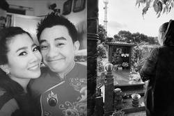 Viếng mộ Anh Vũ, NSND Hồng Vân gửi gắm tâm nguyện: 'Hãy tìm và che chở, bảo vệ Mai Phương'