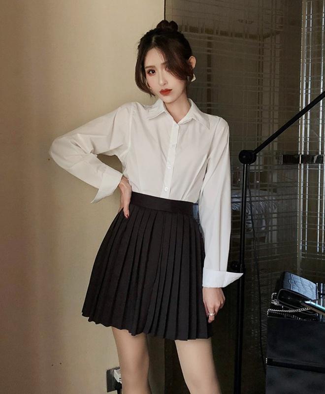 Tăng Thanh Hà, Khánh Linh và cách mặc áo sơ mi trắng đẹp mỗi ngày-3