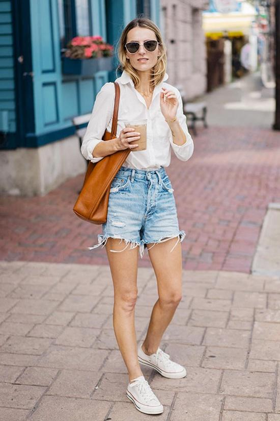 Tăng Thanh Hà, Khánh Linh và cách mặc áo sơ mi trắng đẹp mỗi ngày-4