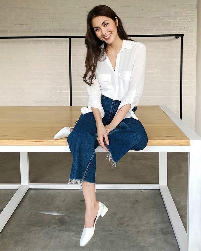 Tăng Thanh Hà, Khánh Linh và cách mặc áo sơ mi trắng đẹp mỗi ngày-7
