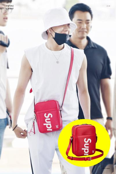 BTS thể hiện gu thời trang nơi phi trường: Đẳng cấp diện túi hàng hiệu đắt xắt ra miếng-6