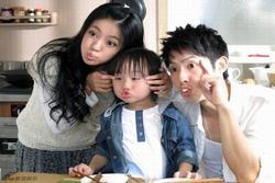 Sao nhí Trung Quốc vất vả nuôi sống cả gia đình