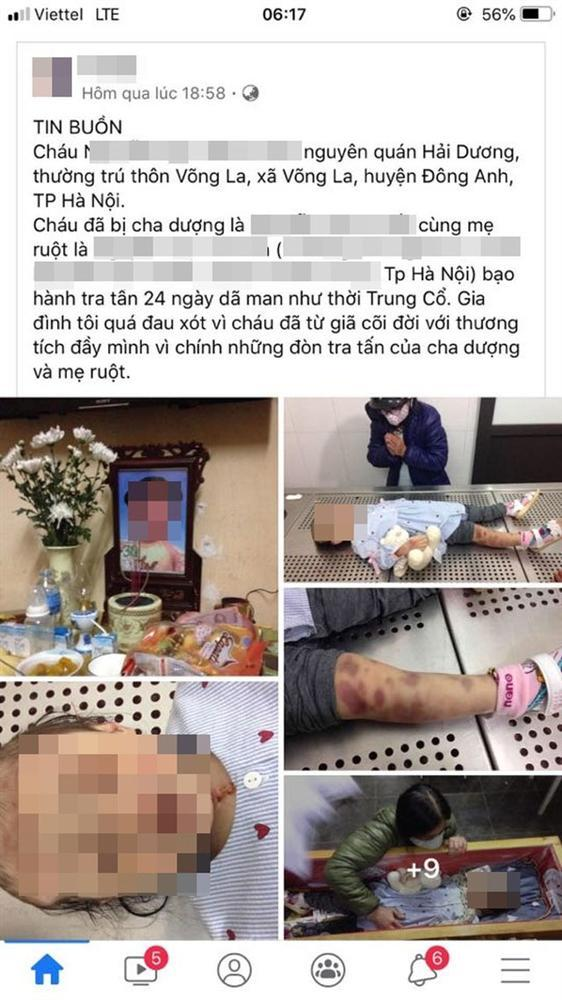 Vụ bé gái tử vong nghi do bị mẹ đẻ và bố dượng bạo hành: Bắt khẩn cấp cặp vợ chồng thủ ác-1