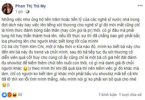 Trịnh Kim Chi thương xót Mai Phương, nữ chính Thương Nhớ Ở Ai mỉa mai: Bà cô già đu bám-1