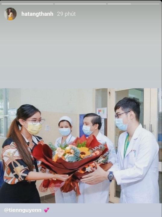 Em chồng ra viện, Tăng Thanh Hà thả tim chúc mừng Tiên Nguyễn ngày hội ngộ-2
