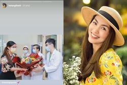 Em chồng ra viện, Tăng Thanh Hà thả tim chúc mừng Tiên Nguyễn ngày hội ngộ