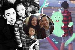 Con trai riêng của chồng Triệu Vy lần đầu lộ mặt: Có ai ngờ 'đẹp trai quá đẹp trai'