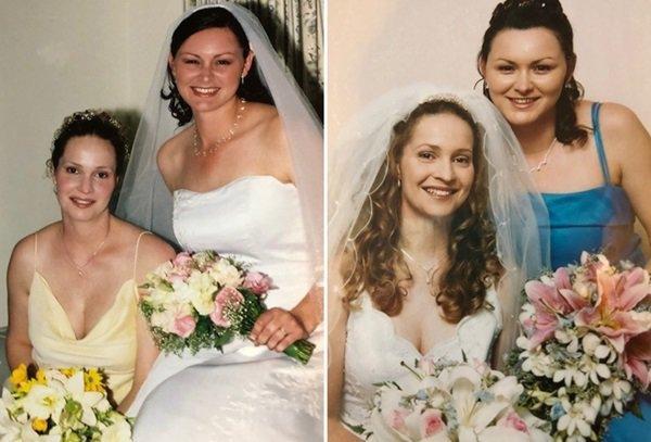 Từng làm phù dâu cho bạn thân, đến lượt cô gái kết hôn danh tính chú rể lại gây sốc-1
