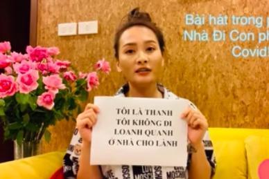 Bảo Thanh hát nhạc phim Về nhà đi con phiên bản chống dịch-1