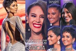 Bản tin Hoa hậu Hoàn vũ 1/4: Nụ cười H'Hen Niê lệch chuẩn nhất top 5