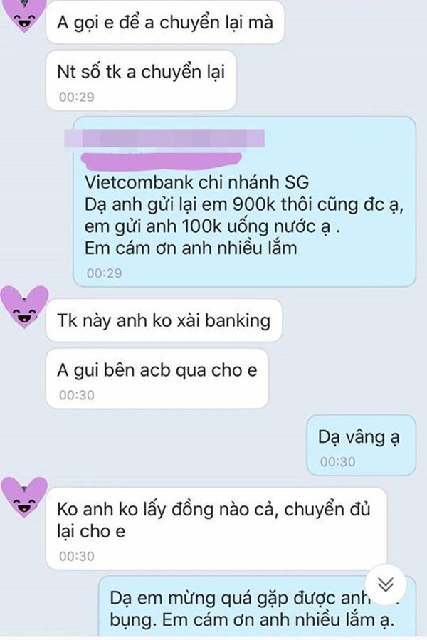 Chuyển tiền từ thiện nhầm tài khoản, cô gái nhắn tin xin lại và phản ứng bất ngờ từ người đàn ông lạ mặt-2