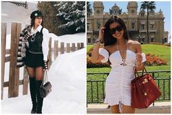Tiên Nguyễn toàn đeo túi hàng hiệu, có chiếc Chanel cá sấu 40.000 USD