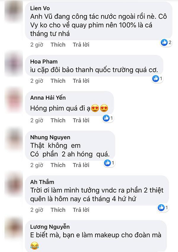 Quốc Trường tag hẳn Bảo Thanh tiết lộ đang quay Về nhà đi con phần 2?-3