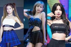 5 idol khiến fan khó rời mắt khi diện áo 'một gang tay'