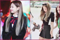 Trông cool thế nhưng Jennie lại là một bánh bèo chính hiệu: Có nguyên một rổ áo nơ, váy nơ nhưng cứ diện là sang