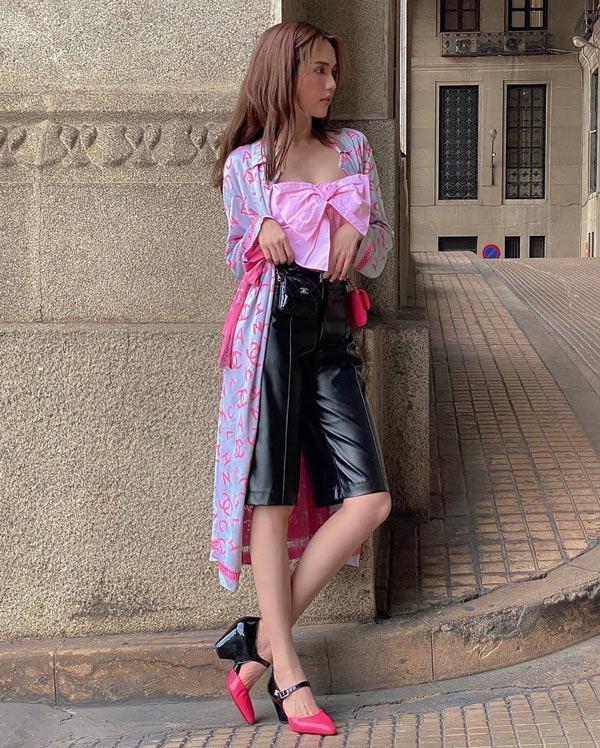Ngọc Trinh - Phượng Chanel bái phục tài mix đồ của Lan Ngọc - Jennie khi đụng hàng giày 35 triệu-3