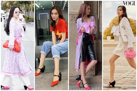 Ngọc Trinh - Phượng Chanel bái phục tài mix đồ của Lan Ngọc - Jennie khi 'đụng hàng' giày 35 triệu