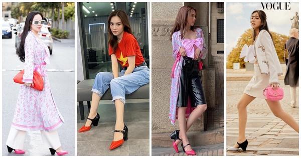 Ngọc Trinh - Phượng Chanel bái phục tài mix đồ của Lan Ngọc - Jennie khi đụng hàng giày 35 triệu-7