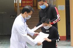 Bé trai 11 tuổi nhiễm Covid -19 ở Hải Dương khỏi bệnh