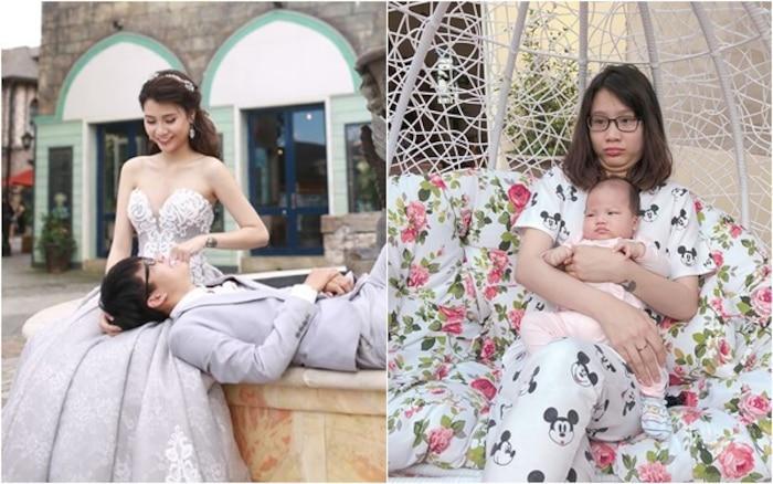 Ba năm sinh 2 đứa, hotmom Thanh Trần than thở chê chồng xài hao-2