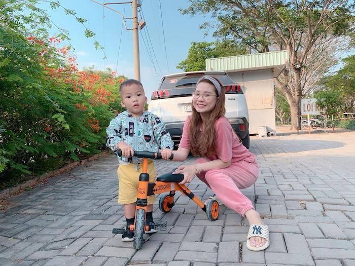 Ba năm sinh 2 đứa, hotmom Thanh Trần than thở chê chồng xài hao-5