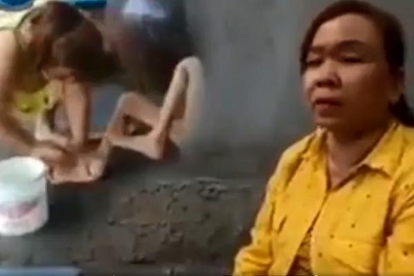 Vụ con gái chửi rủa, đánh đập mẹ 87 tuổi ở An Giang: Tôi ân hận rồi, tại nợ nần túng thiếu quá nên làm liều-3