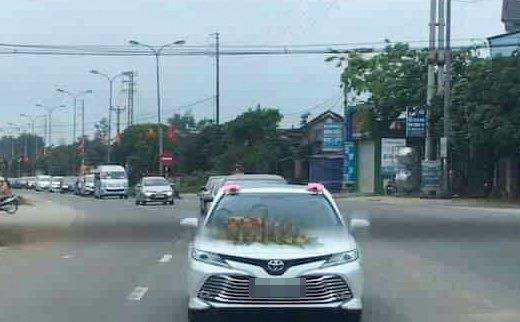 Đoàn xe rước dâu ở Hà Tĩnh giữa dịch: PGĐ bệnh viện nói khách không vào nhà-1