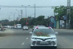 Đoàn xe rước dâu ở Hà Tĩnh giữa dịch: PGĐ bệnh viện nói khách không vào nhà