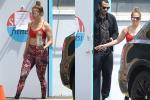 Jennifer Lopez bị chỉ trích khi tới phòng gym