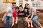 Ông xã khoe ảnh cả gia đình vô tình để lộ mối quan hệ giữa MC Hoàng Linh với con riêng của chồng