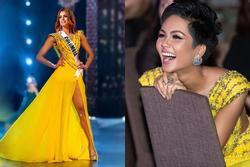 Bản tin Hoa hậu Hoàn vũ 3/4: Chuyện gì xảy ra khi Ariadna mặc thử váy vàng huyền thoại của H'Hen Niê?