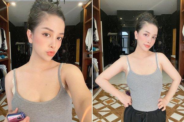 Hotgirl Sài Gòn sinh 2 con vẫn đẹp như gái 18, anh trai Bảo Thy mê mẩn đòi đẻ thêm-2